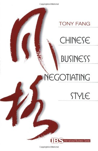 9780761915768: Chinese Business Negotiating Style (International Business series)