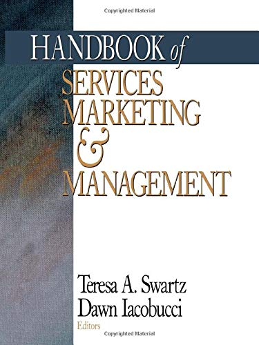 9780761916123: Handbook of Services Marketing and Management