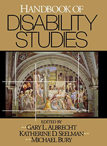 9780761916529: Handbook of Disability Studies