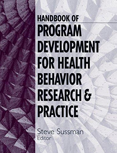 9780761916734: Handbook of Program Development for Health Behavior Research and Practice