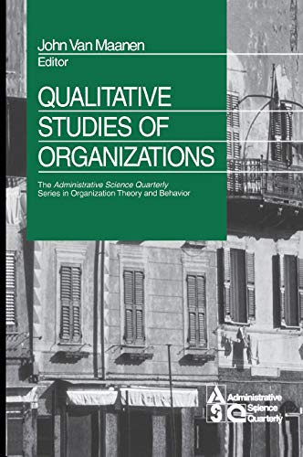 9780761916949: Qualitative Studies of Organizations (The Administrative Science Quarterly Series in Organizational Theory and Behavior)