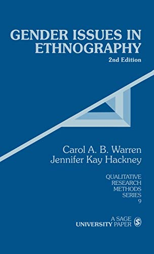 9780761917168: Gender Issues in Ethnography (Qualitative Research Methods)