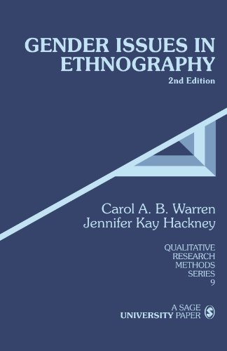 9780761917175: Gender Issues in Ethnography, 2nd Edition (Qualitative Research Methods, Series 9)