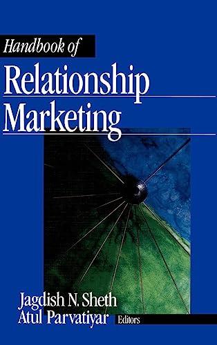 Handbook of Relationship Marketing: Atul Parvatiyar; Jagdish