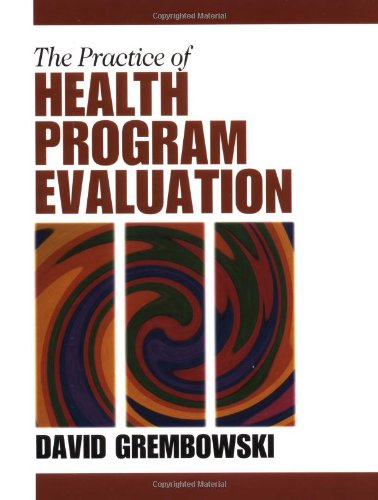 practice of health program evaluation grembowski pdf