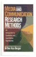 9780761918523: Media and Communication Research Methods: An Introduction to Qualitative and Quantitative Approaches