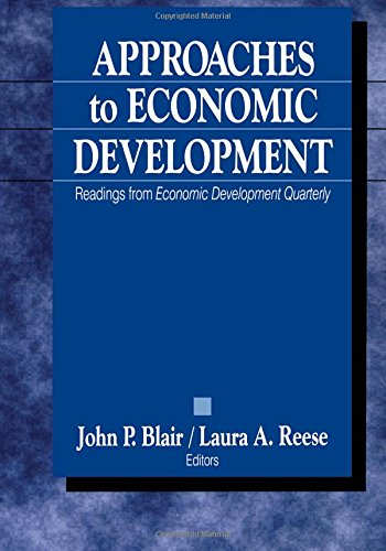 9780761918844: Approaches to Economic Development: Readings From Economic Development Quarterly