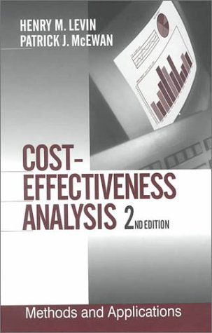 9780761919339: Cost-Effectiveness Analysis: Methods and Applications