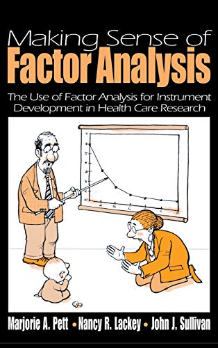 9780761919490: Making Sense of Factor Analysis: The Use of Factor Analysis for Instrument Development in Health Care Research