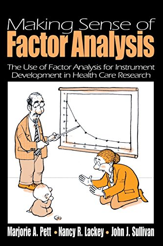 9780761919506: Making Sense of Factor Analysis: The Use of Factor Analysis for Instrument Development in Health Care Research