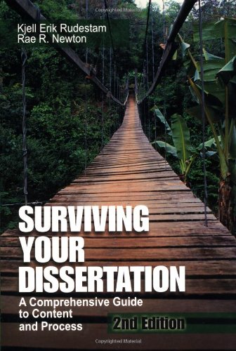 9780761919629: Surviving Your Dissertation: A Comprehensive Guide to Content and Process