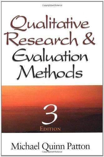 9780761919711: Qualitative Research & Evaluation Methods