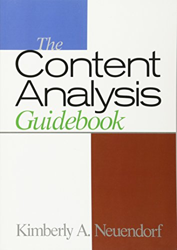 9780761919780: The Content Analysis Guidebook