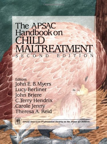 APSAC Handbook on Child Maltreatment: Dr. John E.B.
