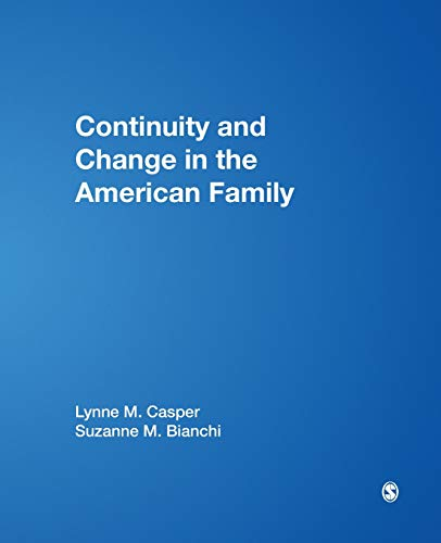 9780761920090: Continuity & Change in the American Family