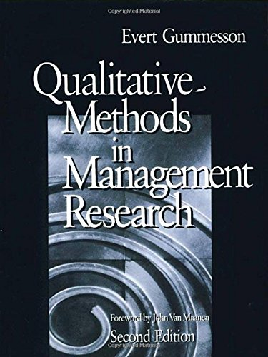 9780761920137: Qualitative Methods in Management Research