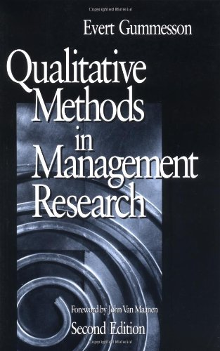 9780761920144: Qualitative Methods in Management Research