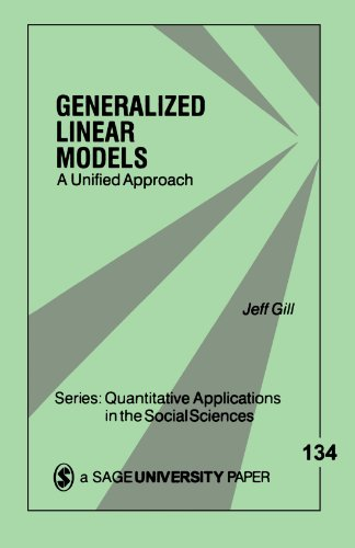9780761920557: Generalized Linear Models: A Unified Approach (Quantitative Applications in the Social Sciences)