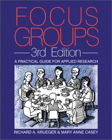 9780761920700: Focus Groups: A Practical Guide for Applied Research