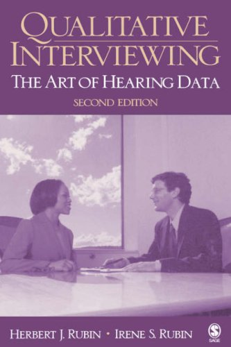 9780761920748: Qualitative Interviewing: The Art of Hearing Data