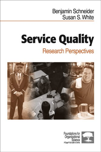 9780761921462: Service Quality: Research Perspectives (Foundations for Organizational Science)