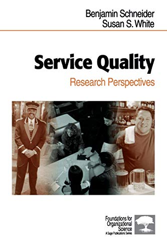 9780761921479: Service Quality: Research Perspectives (Foundations for Organizational Science)