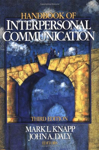 9780761921608: Handbook of Interpersonal Communication
