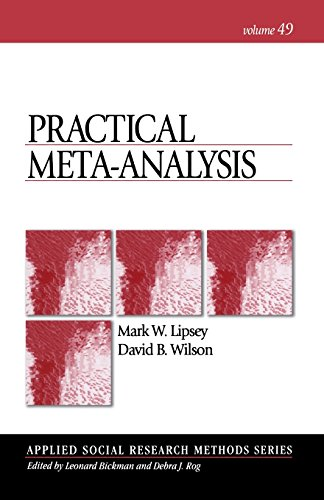 9780761921684: Practical Meta-Analysis (Applied Social Research Methods)