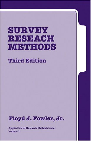 9780761921905: Survey Research Methods (Applied Social Research Methods)