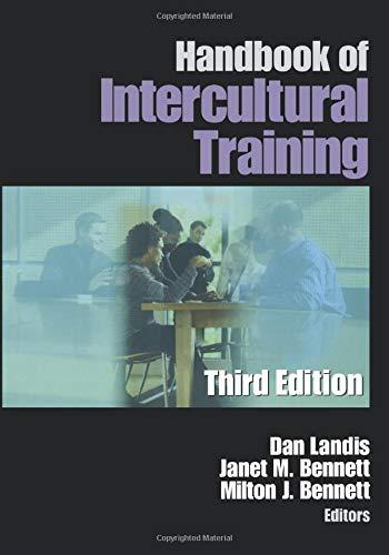 9780761923329: Handbook of Intercultural Training