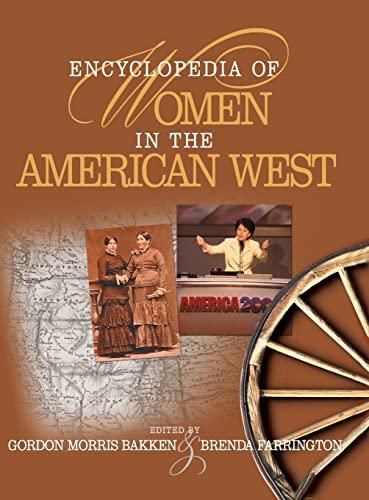 Encyclopedia Of Women In The American West