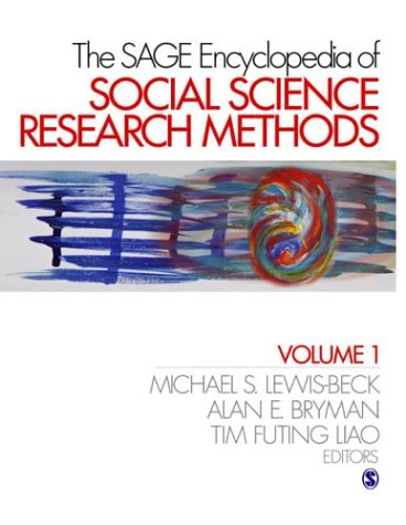 9780761923633: The Sage Encyclopedia of Social Science Research Methods