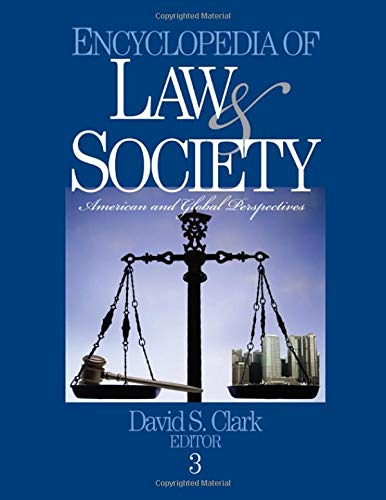 9780761923879: Encyclopedia of Law And Society: American and Global Perspectives
