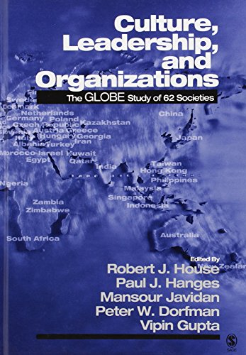 9780761924012: Culture, Leadership, and Organizations: The GLOBE Study of 62 Societies