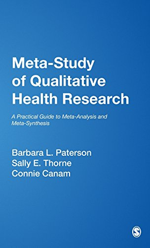 9780761924142: Meta-Study of Qualitative Health Research: A Practical Guide to Meta-Analysis and Meta-Synthesis