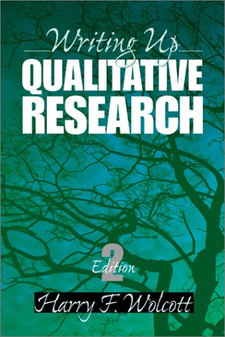 9780761924289: Writing Up Qualitative Research