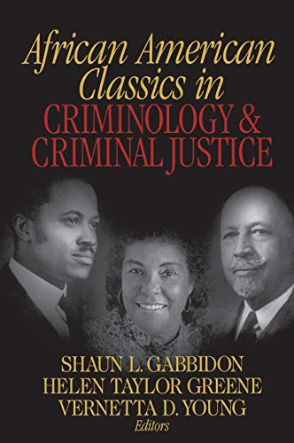 9780761924326: African American Classics in Criminology and Criminal Justice