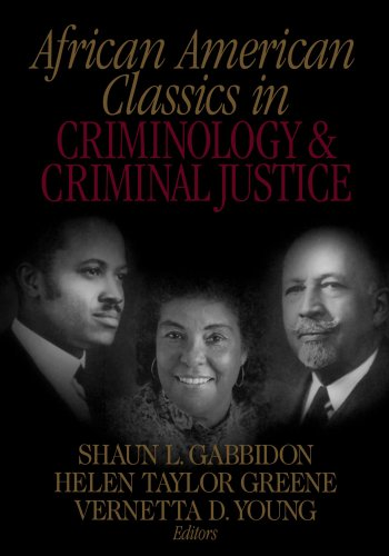 9780761924333: African American Classics in Criminology and Criminal Justice