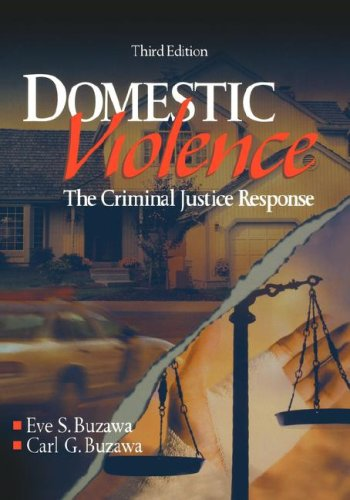 9780761924470: Domestic Violence: The Criminal Justice Response