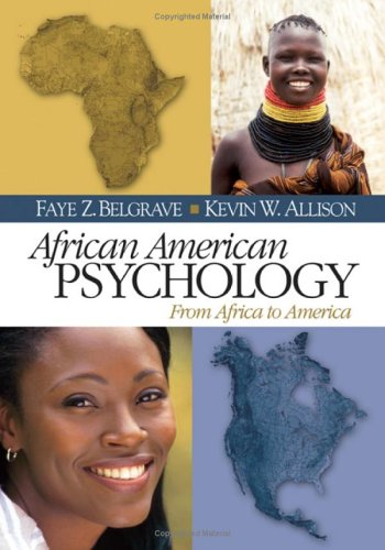 9780761924715: African American Psychology: From Africa to America