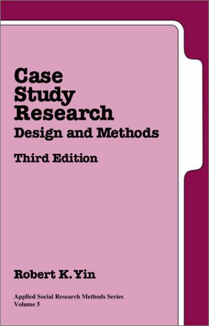 9780761925521: Case Study Research: Design and Methods