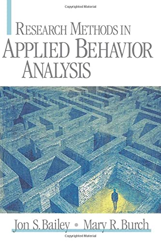 9780761925569: Research Methods in Applied Behavior Analysis