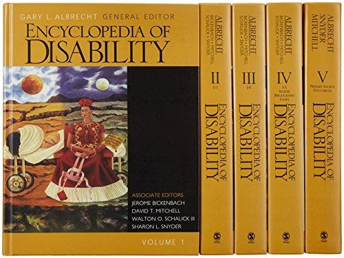 Encyclopedia of Disability (Hardcover): Gary L. Albrecht