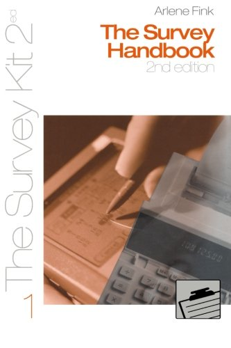 9780761925804: The Survey Handbook (Survey Kit Second Edition 1 1)
