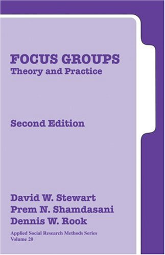 9780761925828: Focus Groups: Theory and Practice (Applied Social Research Methods)