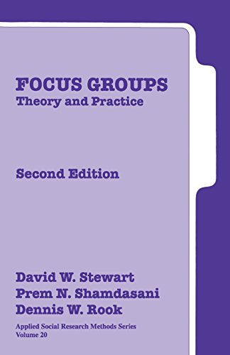 9780761925835: Focus Groups: Theory and Practice: 20 (Applied Social Research Methods)