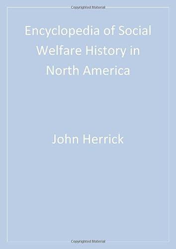 9780761925842: Encyclopedia of Social Welfare History in North America