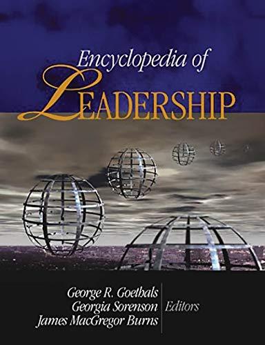 9780761925972: Encyclopedia of Leadership 4 vol. set