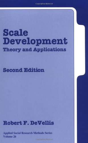 9780761926054: Scale Development: Theory and Applications Second Edition (Applied Social Research Methods)