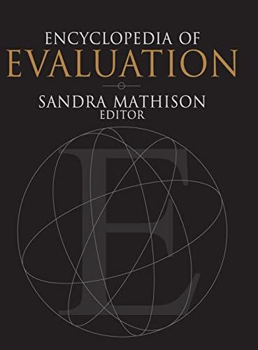 9780761926092: Encyclopedia of Evaluation